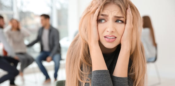 Le diverse forme di ansia