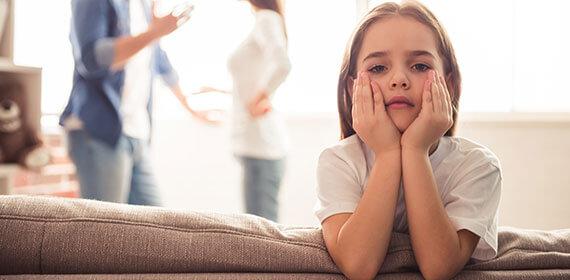 Separazione dei genitori: che sofferenza per i figli!